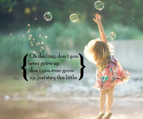 Cute Little Girl Quotes About Growing Up Archidev