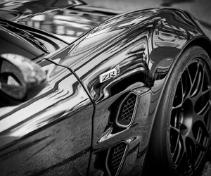 car, black_and_white, and delobbo image