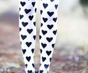 heart, legs, and white image
