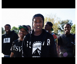 trill, asap, and asap rocky image