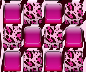 background, leopard, and pink image