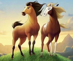horse and spirit image