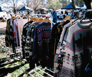 sweater, vintage, and hipster image