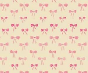 pink, ribbon, and cute image