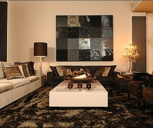 home decoration, interior, and livingroom image