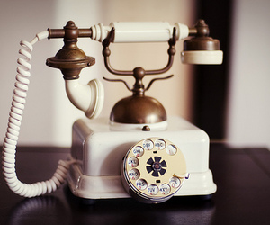 vintage, phone, and telephone image
