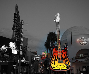 guitar, hard rock, and photography image