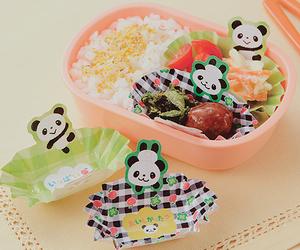 bento, panda, and cute image