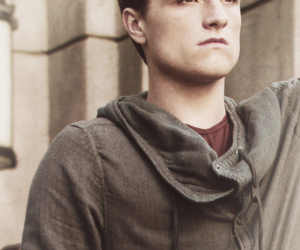 the hunger games, district 12, and josh hutcherson image