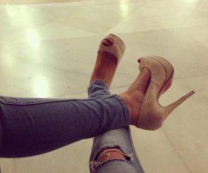 fashion, high heels, and shoes image