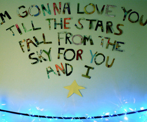 stars, love, and text image
