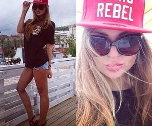 girl, rebel, and swag image