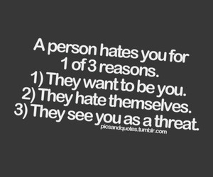 hate, haters, and person image