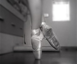 ballet, dance, and black and wite image