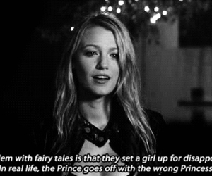 gossip girl, quote, and serena image