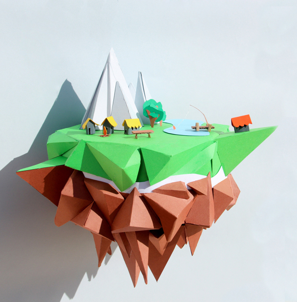 Epic Paper Craft Uploaded By Bee On We Heart It