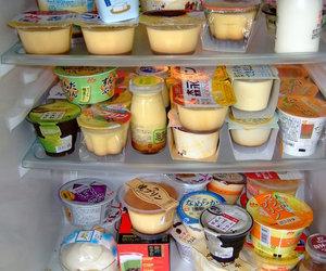 pudding, food, and japan image