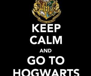 harry potter, hogwarts, and keep calm image