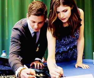logan lerman, alexandra daddario, and percy jackson image