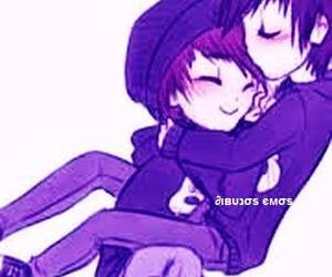emo, emo boy, and love is love image