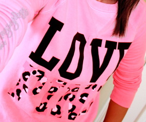 pink, love pink, and love image