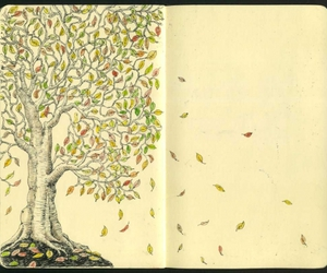 autumn, draw, and design image