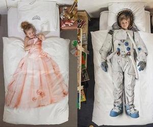 astronauta, sister, and cute image
