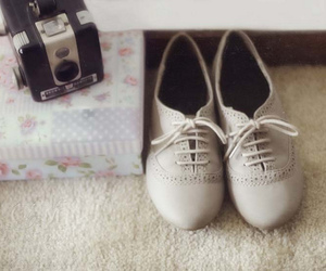 shoes, vintage, and camera image