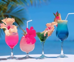summer, drink, and cocktail image
