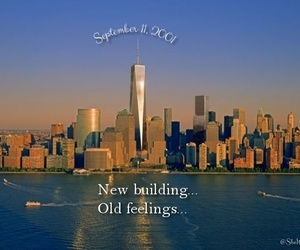 feelings, nyc, and world trade center image