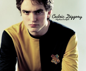 harry potter, cedric diggory, and robert pattinson image
