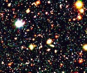 background, galaxy, and stars image