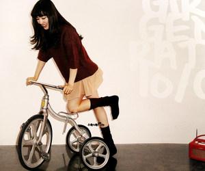 bike, snsd, and tiffany hwang image