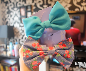 cute, tumblr, and bows image