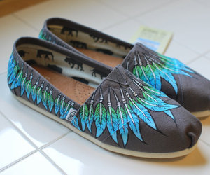 toms, feather, and cute image