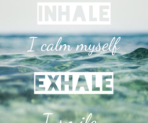 quote, calm, and ocean image