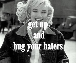get up, retro, and haters image