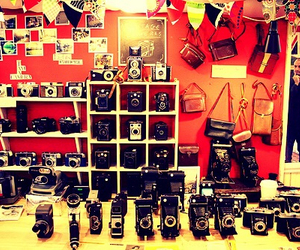 camera, london, and vintage image