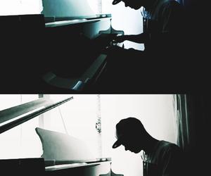 piano, the wanted, and nathan sykes image