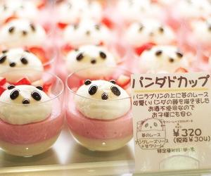 panda, kawaii, and food image