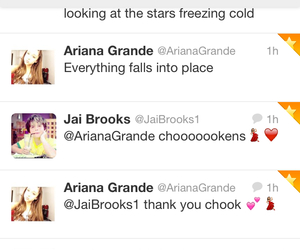 brooks, twitter, and ariana image
