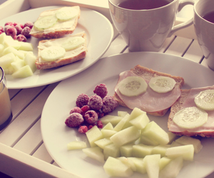 breakfast, healthy, and yummi image