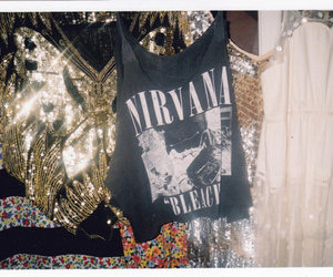 band, nirvana, and fashion image