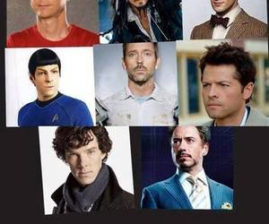 sherlock, spock, and doctor who image