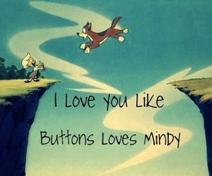 buttons, dog, and love image
