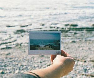 beach, photography, and indie image