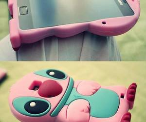 phone, pink, and case image