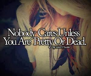 pretty, dead, and quote image
