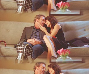 house, cuddy, and house md image