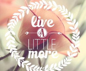 live, life, and more image